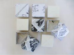 origamibokser, gjenbruk, diy