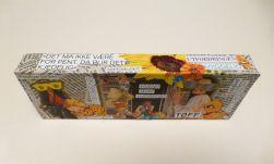 collage, avis, klipp og lim, ord