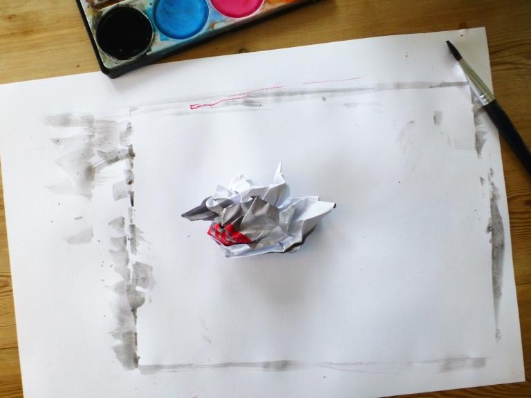 tegne, helleristninger, papir