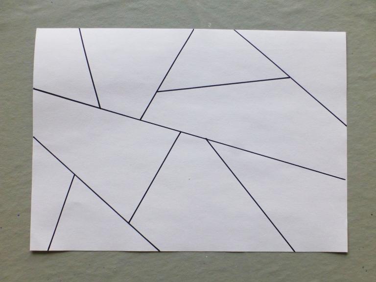 tegne, linjer