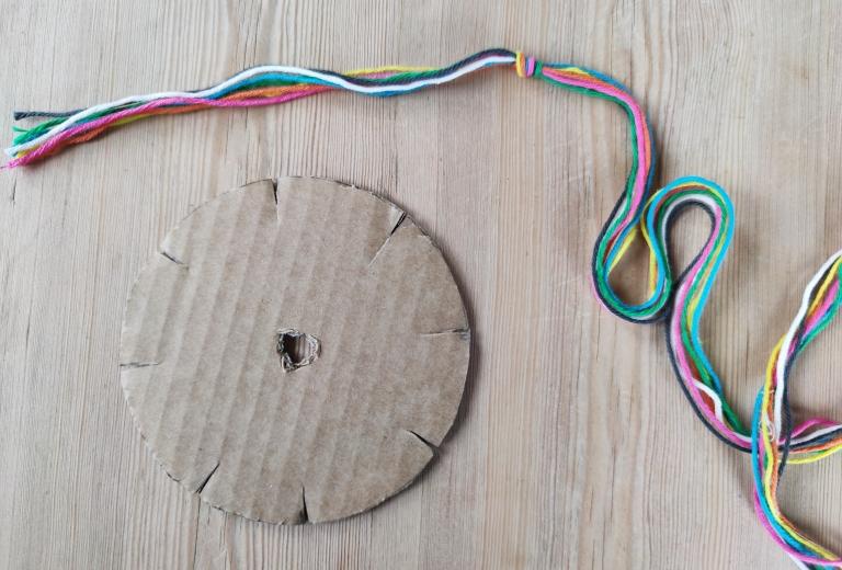 flette bånd med sju tråder